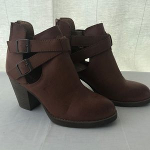 Maurice's ankle booties